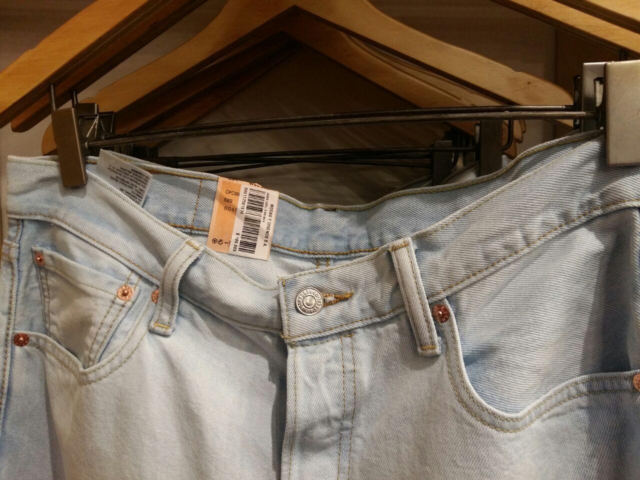 Los Jeans de Levis en el C.C. Viva, el más grande de la región Caribe, cuesta 99.000