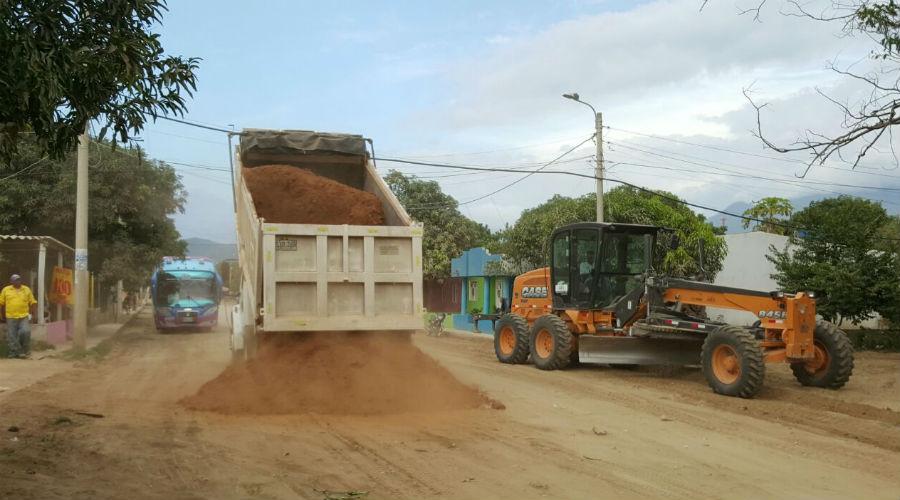 Intervención de vías en Timayui, Los Alpes y Garagoa.