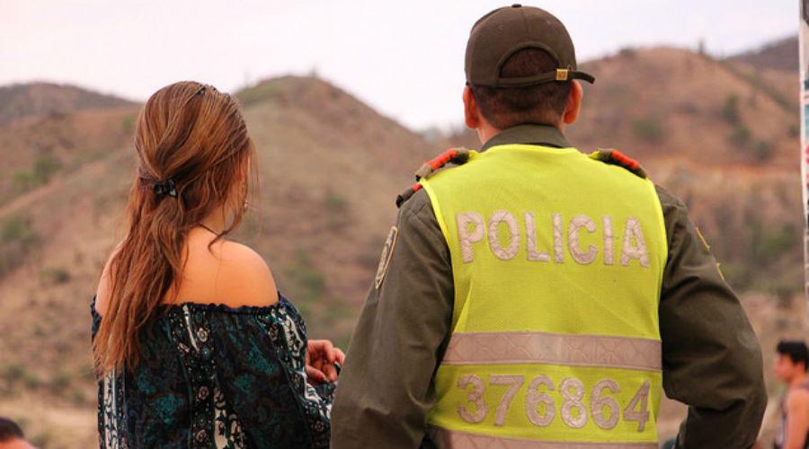 Taganga es uno de los lugares en donde presta seguridad el refuerzo de la Policía.