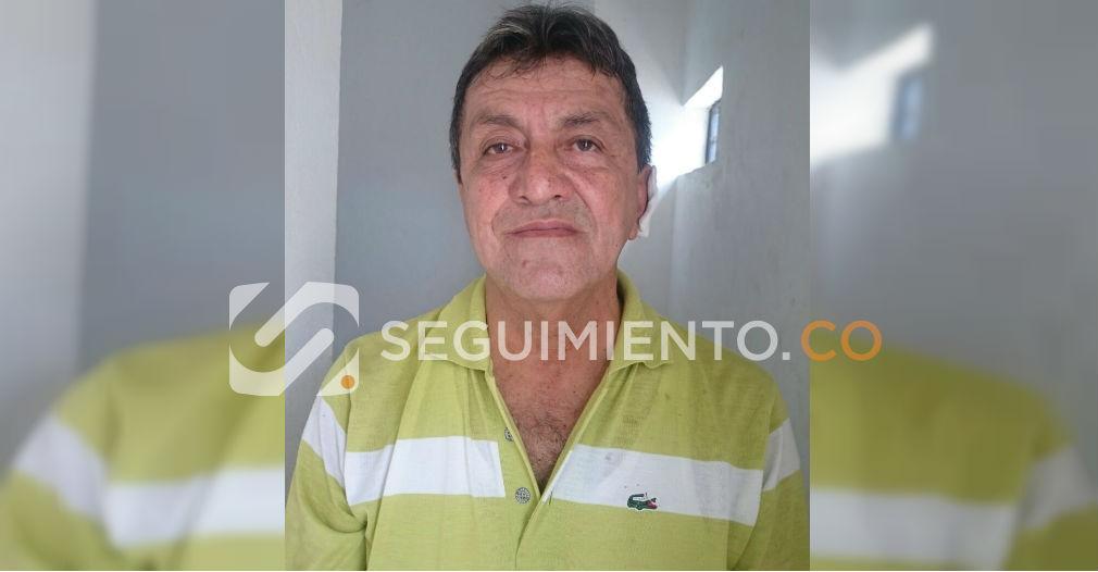 El docente Gilberto González, de 65 años, presuntamente abusador sexual de la joven estudiante.