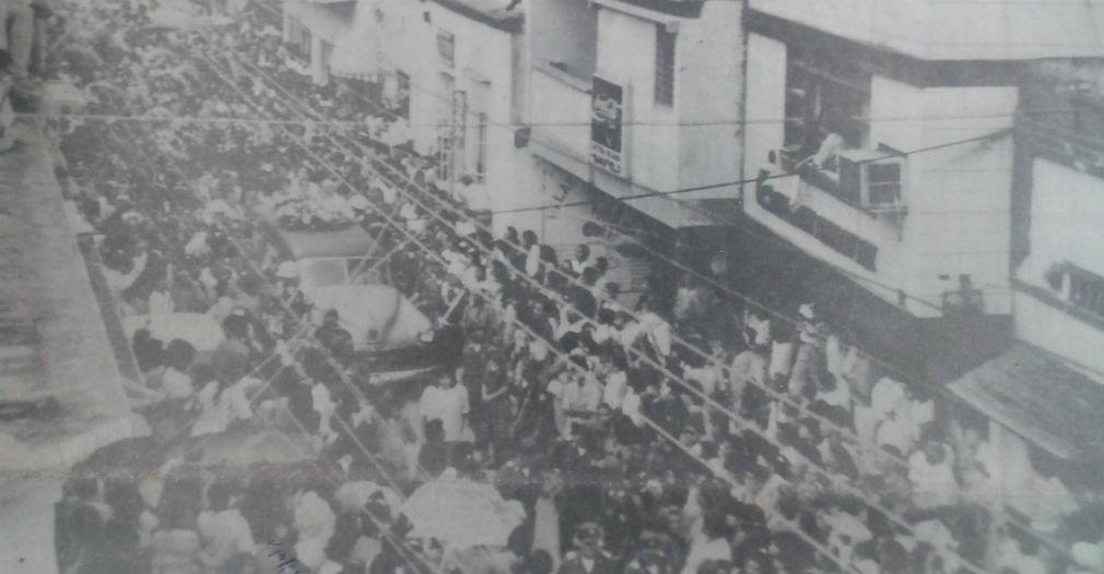 El sepelio del radiodifusor fue visto como uno de los más multitudinarios en la historia de Santa Marta.