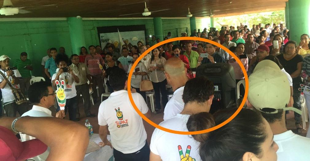 Jaime Avendaño no afrontó la emergencia del incendio porque estaba en correría.