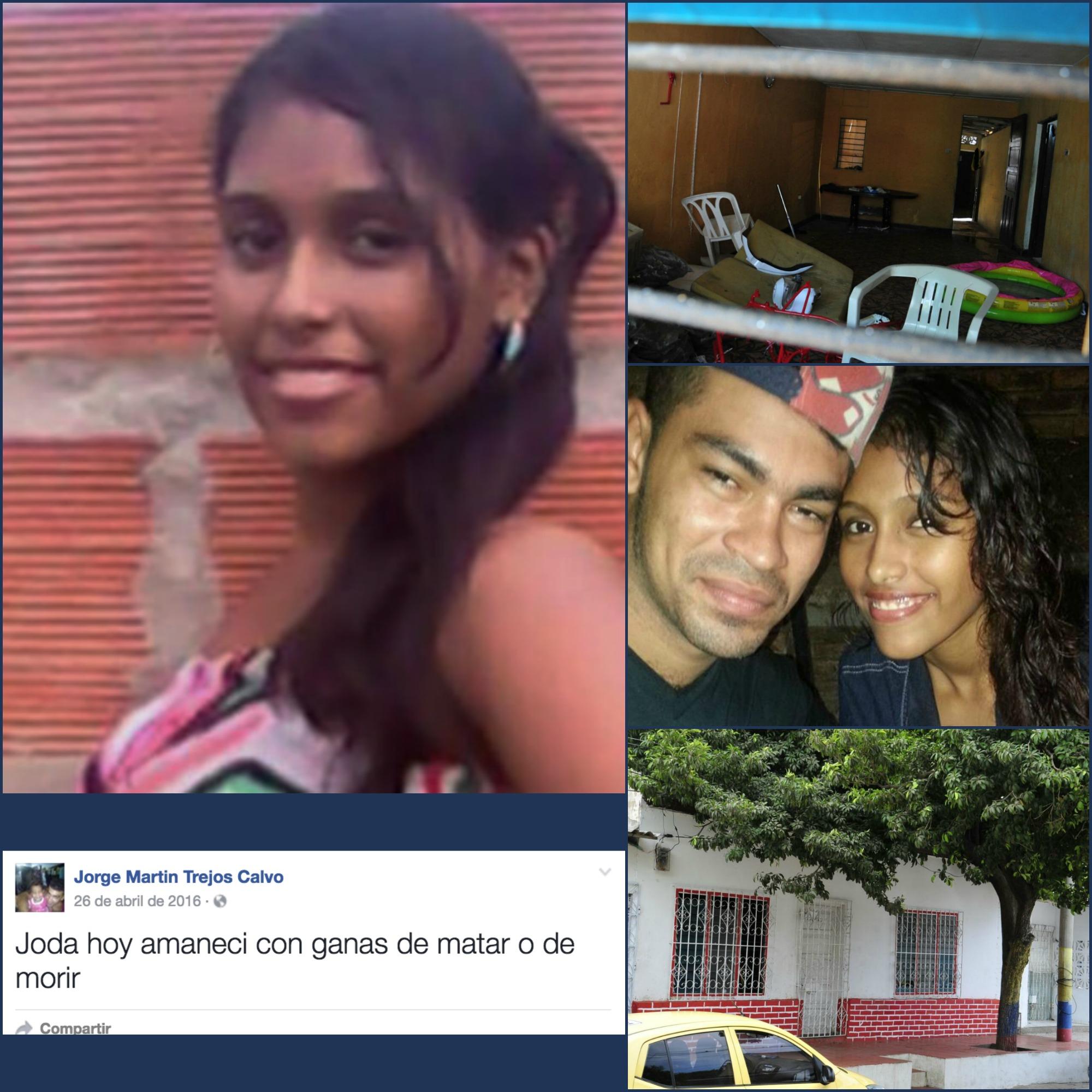Jorge Trejos acabó con la vida de su pareja de solo 19 años.