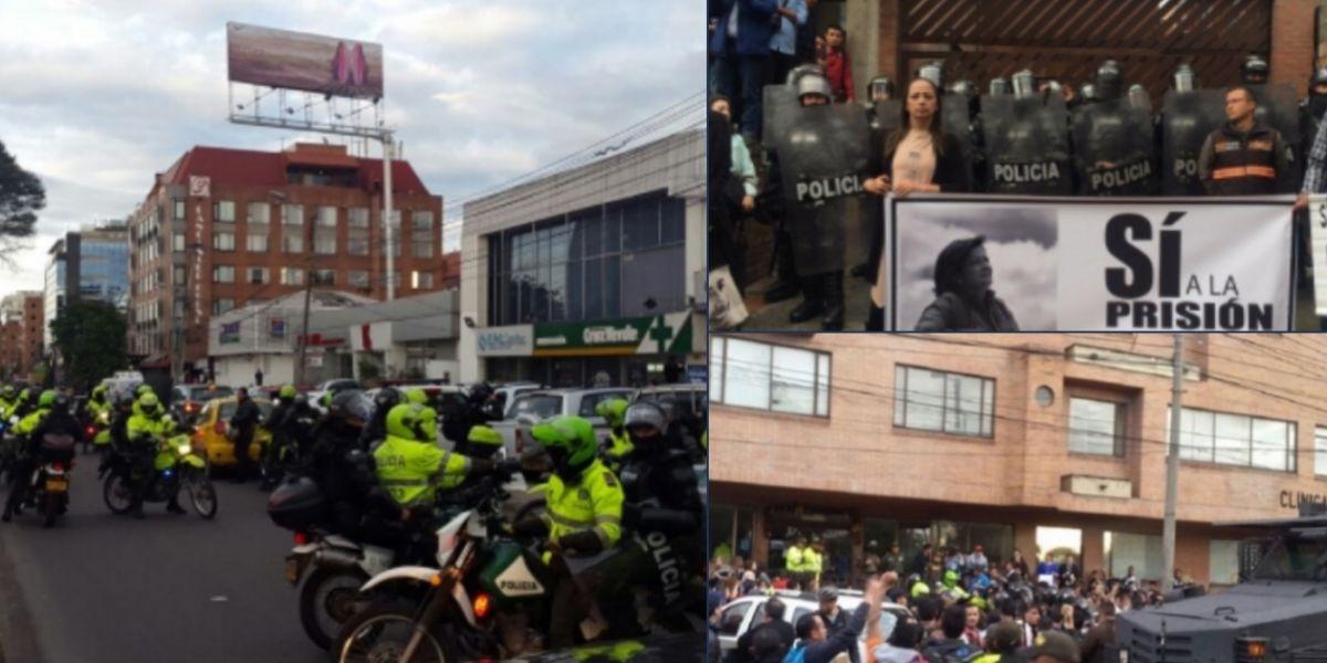 Trasladan al presunto asesino de yuliana rafael uribe a for Juzgados de paloquemao