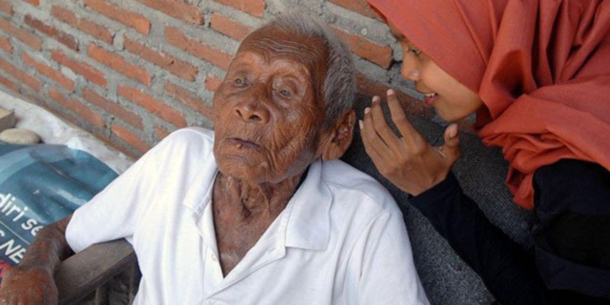 Mbah Gotho ha cumplido 146 años el pasado 31 de diciembre.
