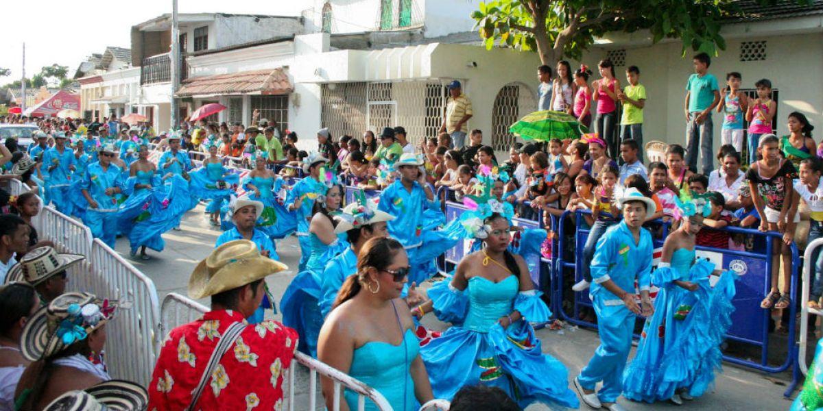 Celebración del Festival Nacional del Caimán Cienaguero.