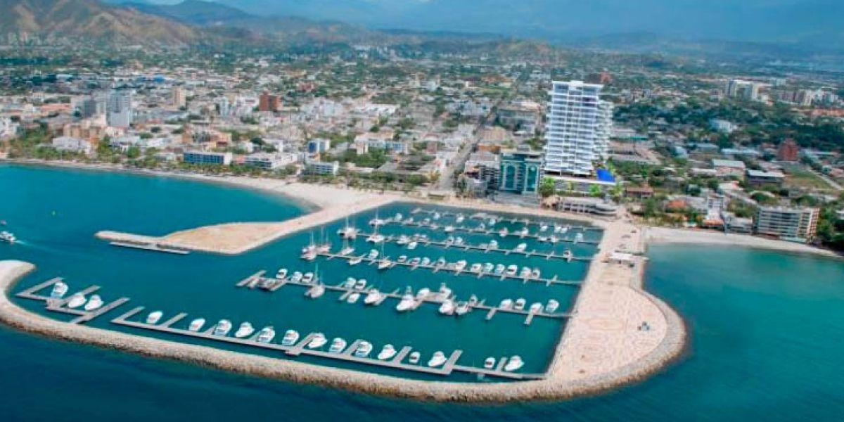 La Marina Internacional de Santa Marta albergará la actividad naútica.