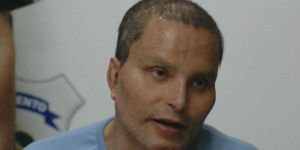 Juan Carlos Ramírez Abadía, alias 'Chupeta', quien paga condena en Estados Unidos por narcotráfico.