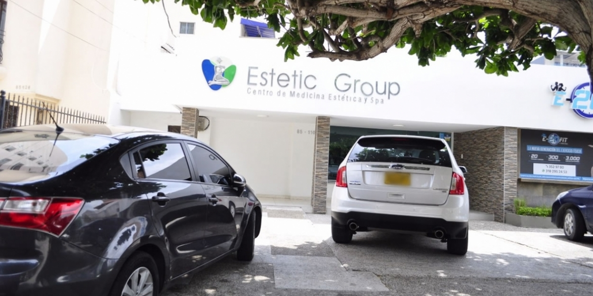 Fachada de 'Estetic Group'.