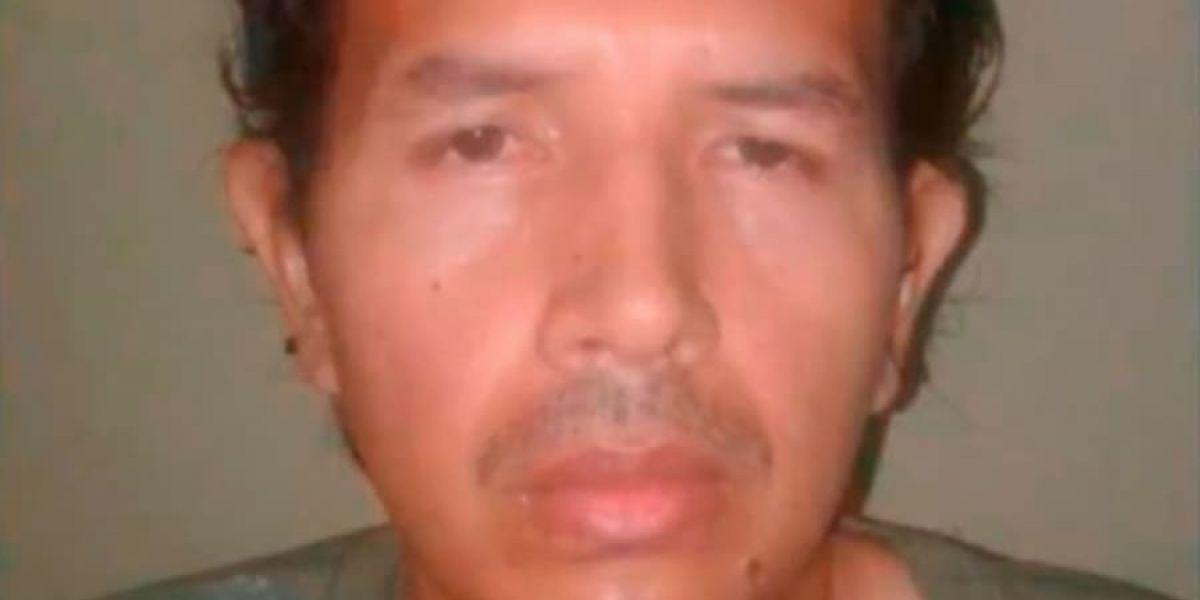 Juan Carlos Sánchez Latorre, alias 'Lobo Feroz', violador de menores en Barranquilla.