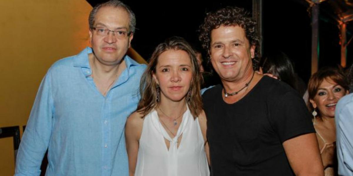 Fernando Carrillo y Carlos Vives.
