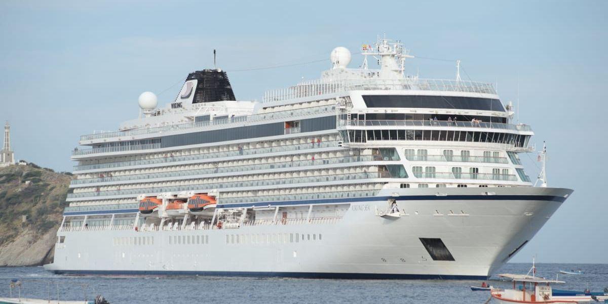 El MV Viking Sea.