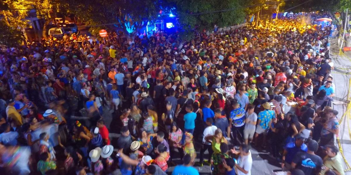 Samarios disfrutaron de los carnavales.