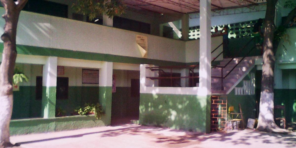Instalaciones de la IED Camilo Torres en el sector de Gaira.