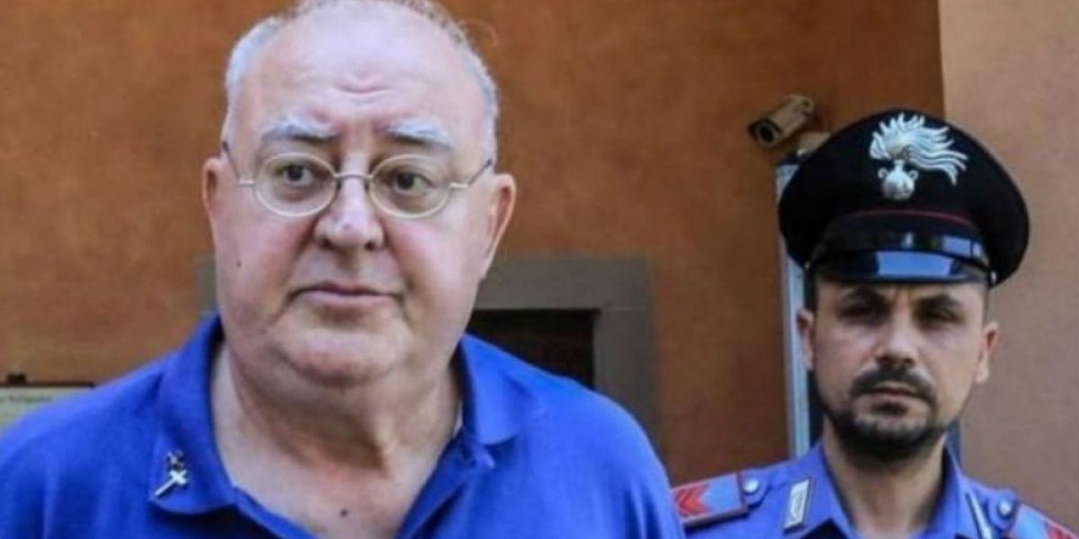 El sacerdote italiano Paolo Glaentzer.