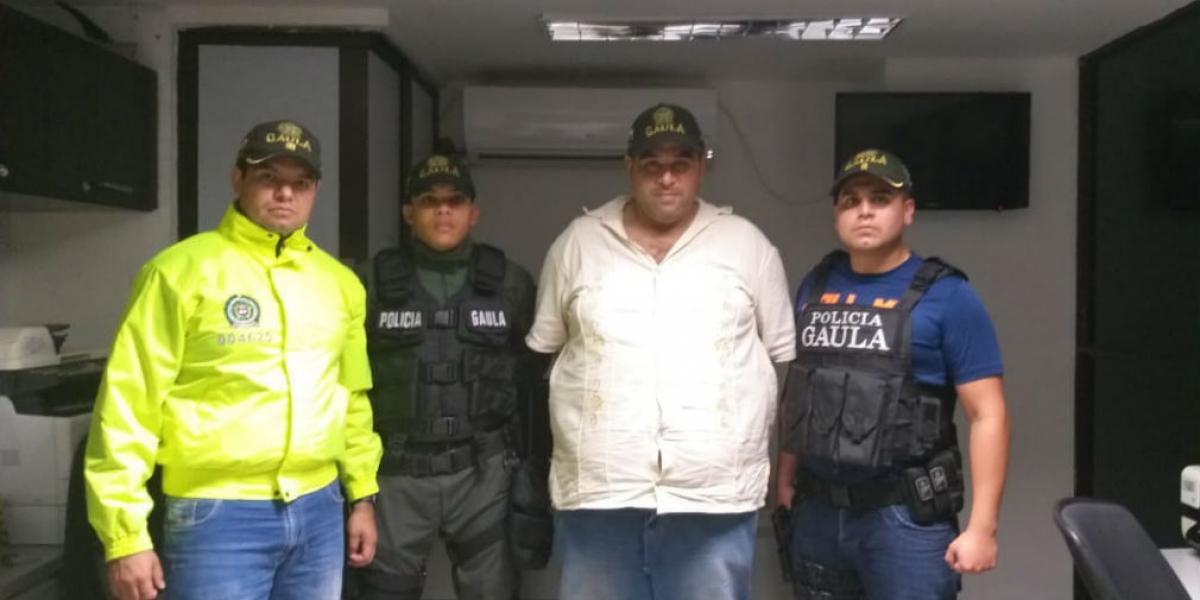 Juan Guillermo Londoño López, ganadero rescatado en Santa Marta.