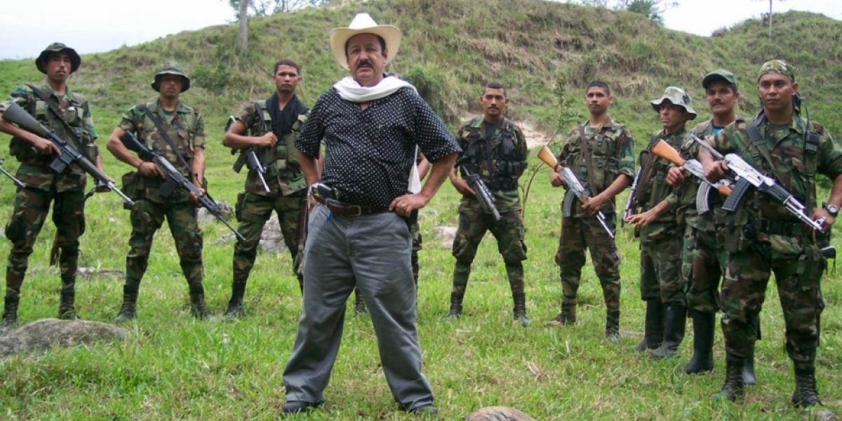 Hernán Giraldo Serna, exjefe paramilitar.