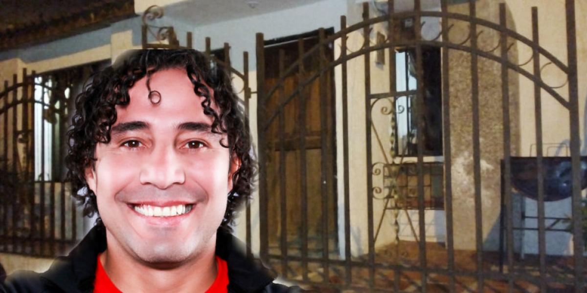 Imagen de referencia - Jorge Bolaño y vivienda involucrada en el embargo.