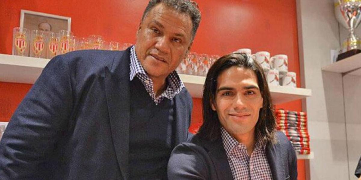 Radamel García King y Radamel Falcao García.