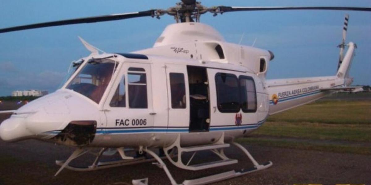 Esta es la aeronave accidentada en Cundinamarca.