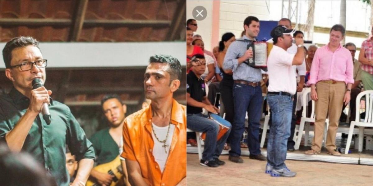 Caicedo, el 'Mello' Cotes e Iván Zuleta