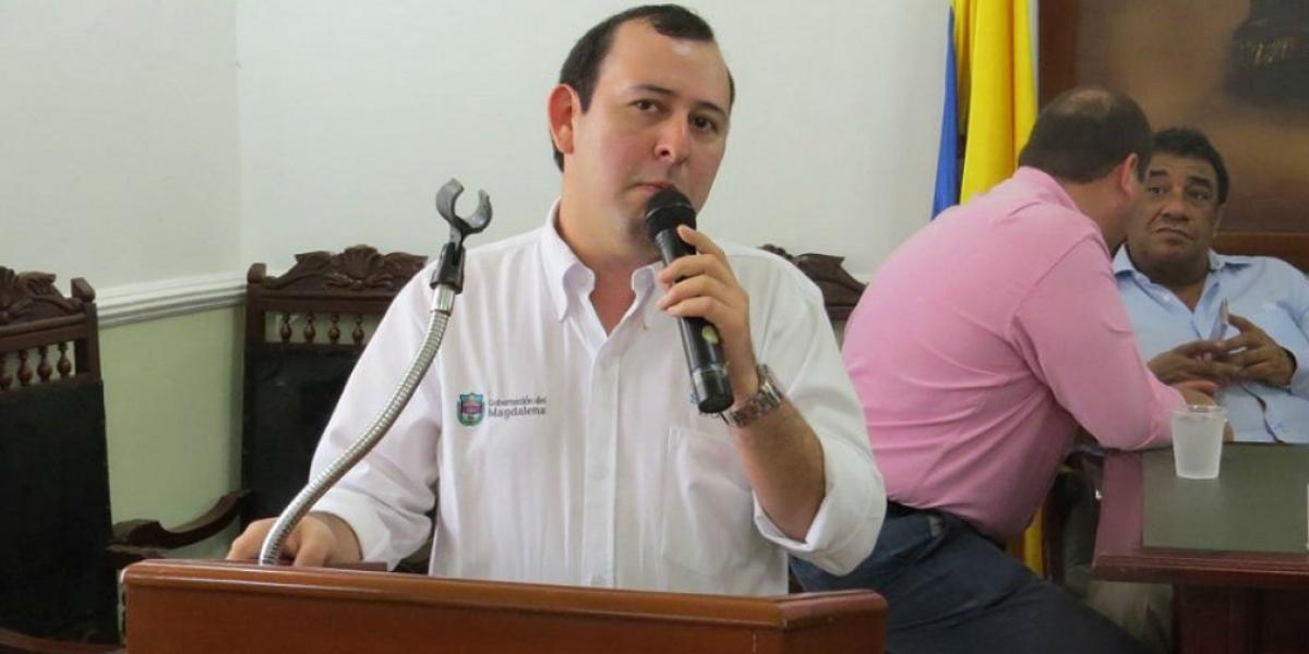 Carlos Páez, director de Indeportes Magdalena.