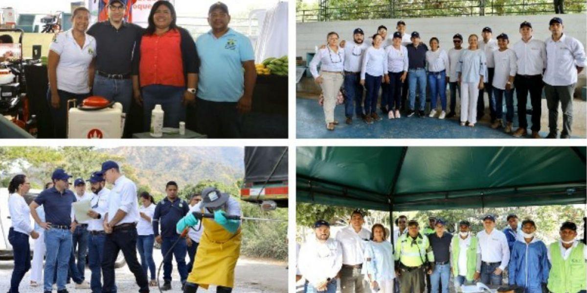 En el evento, que se llevó a cabo en el corregimiento Orihueca del municipio Zona Bananera.