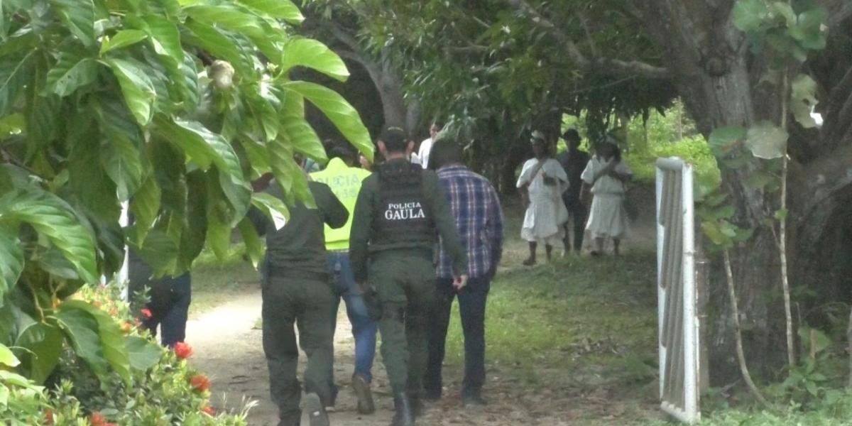 Los cuerpos de Natalia Jiménez y Rodrigo Monsalve, fueron encontrados en la zona de Perico Agüao.