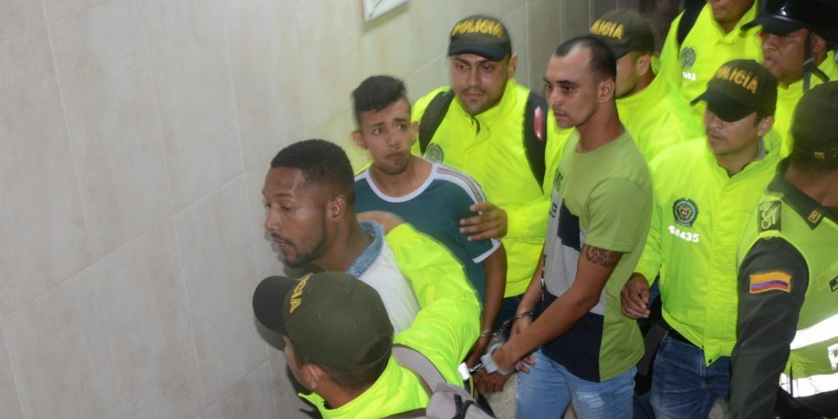 Los tres capturados fueron enviados a la cárcel.