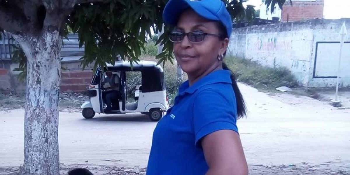 La docente, Lonelis Del Carmen Vanegas Herrera, asesinada en Malambo.