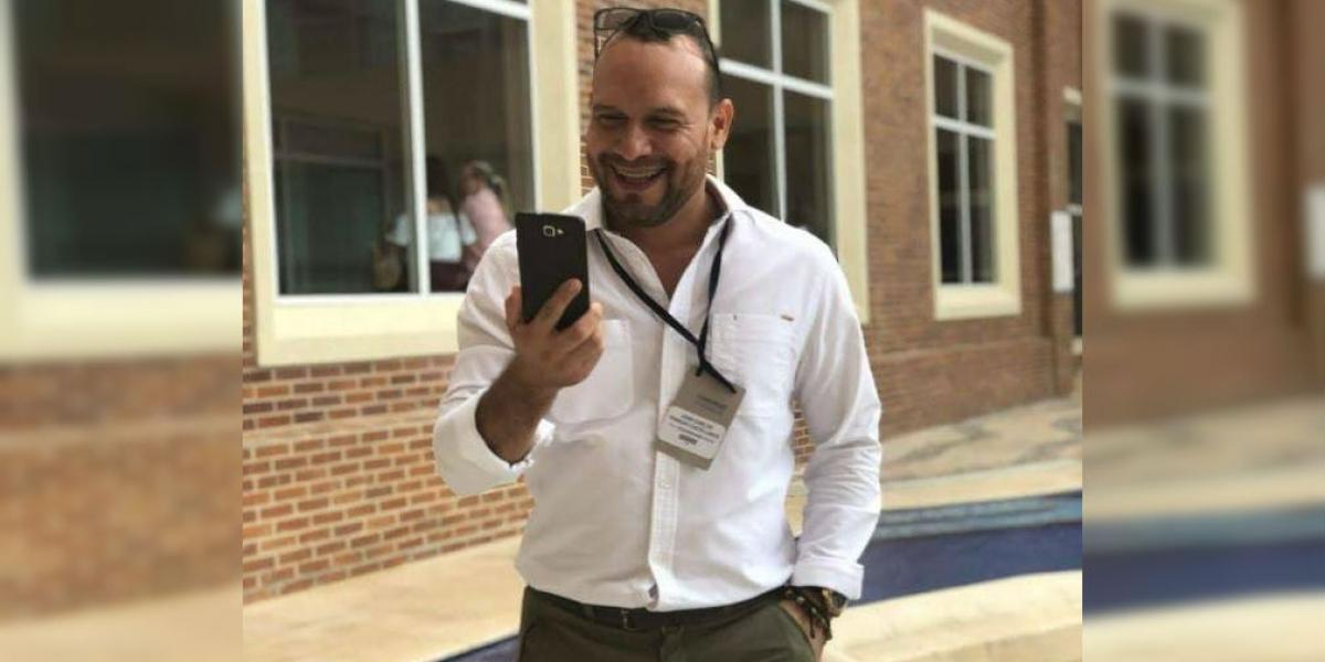 Juan Carlos Pedrozo era el jefe de Desarrollo Humano del Grupo Daabon.