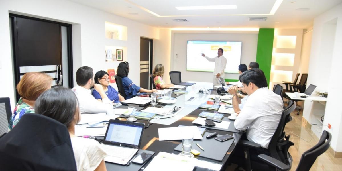Consejo Superior de la Unimagdalena socializando el Plan de Desarrollo 2019-2030