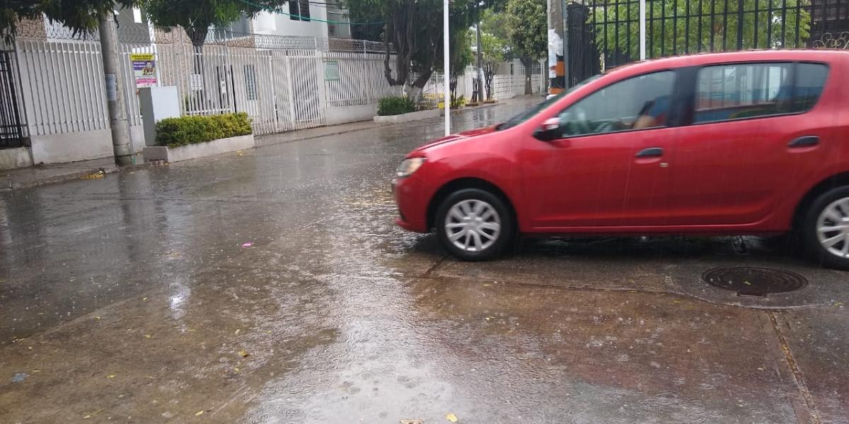 Este viernes 10 de mayo de 2019 volvió la lluvia a Santa Marta.