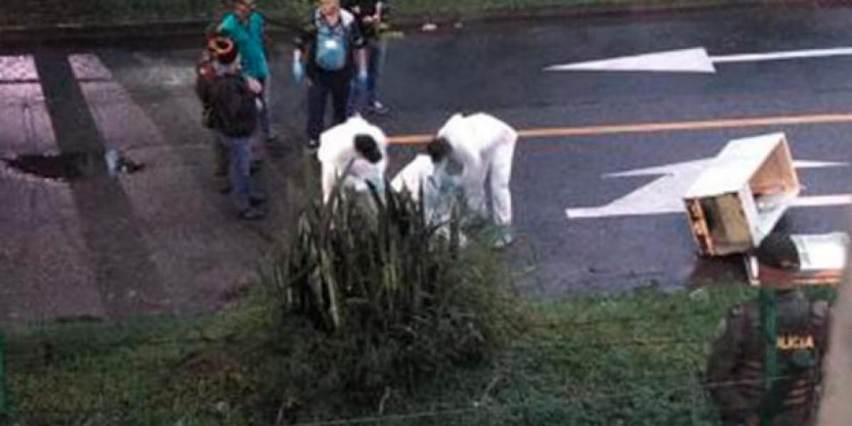 Encuentran cuerpo de hombre sin vida dentro de nevera en Antioquia