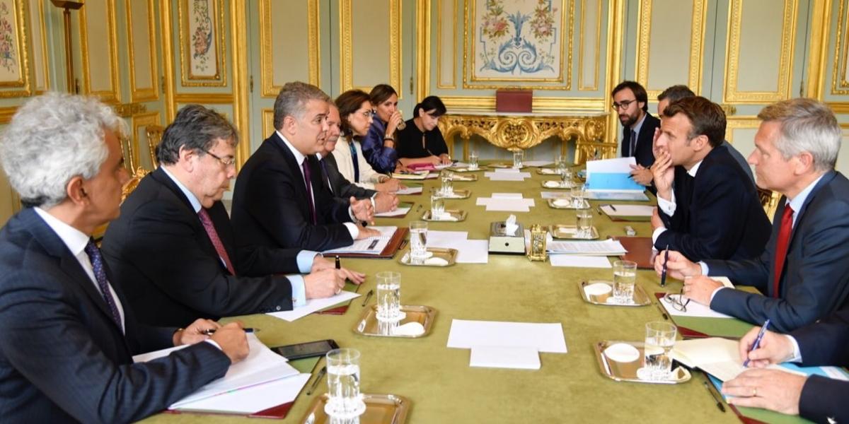Firman de pacto entre Colombia y Francia sobre el cuidado del medio ambiente