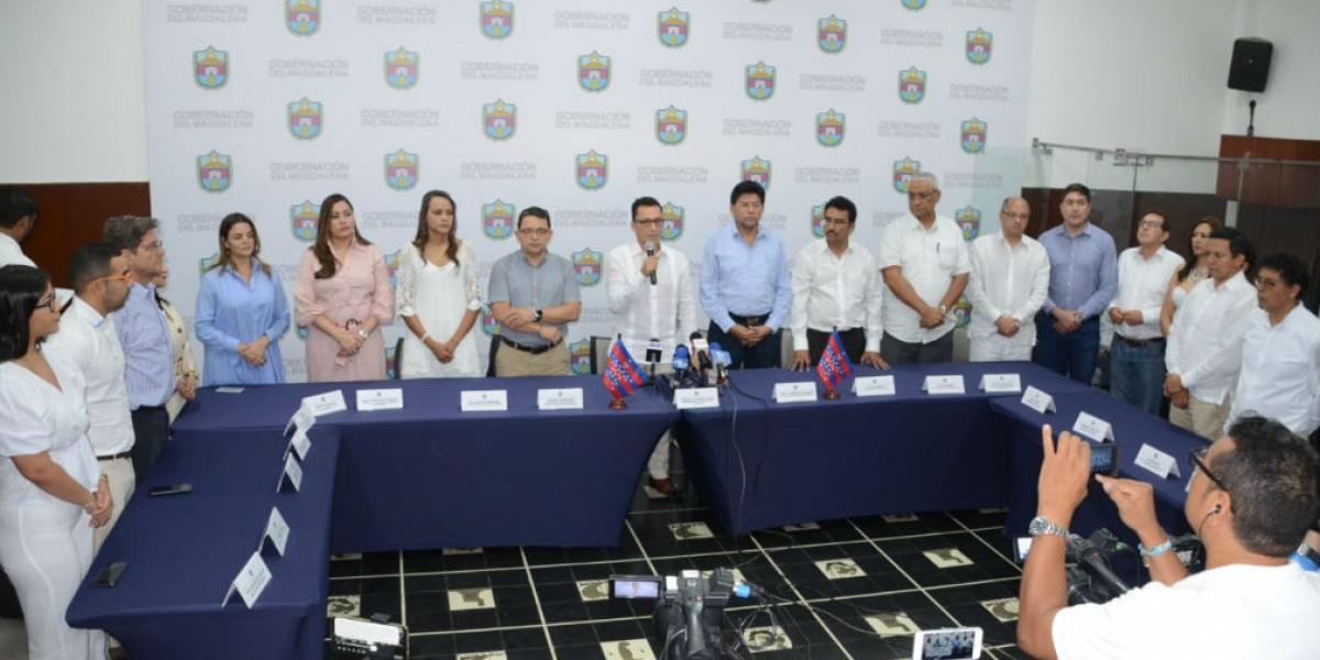 Gabinete de la Gobernación del Magdalena.