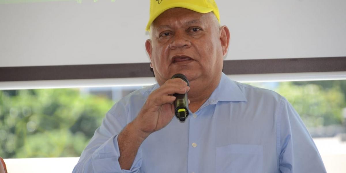 El alcalde de Ciénaga, Luis Tete Samper