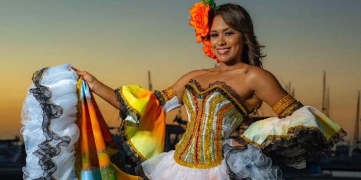 Michelle Stefanny Acosta Lindo, Reina Central de los Carnavales de Funcarpes
