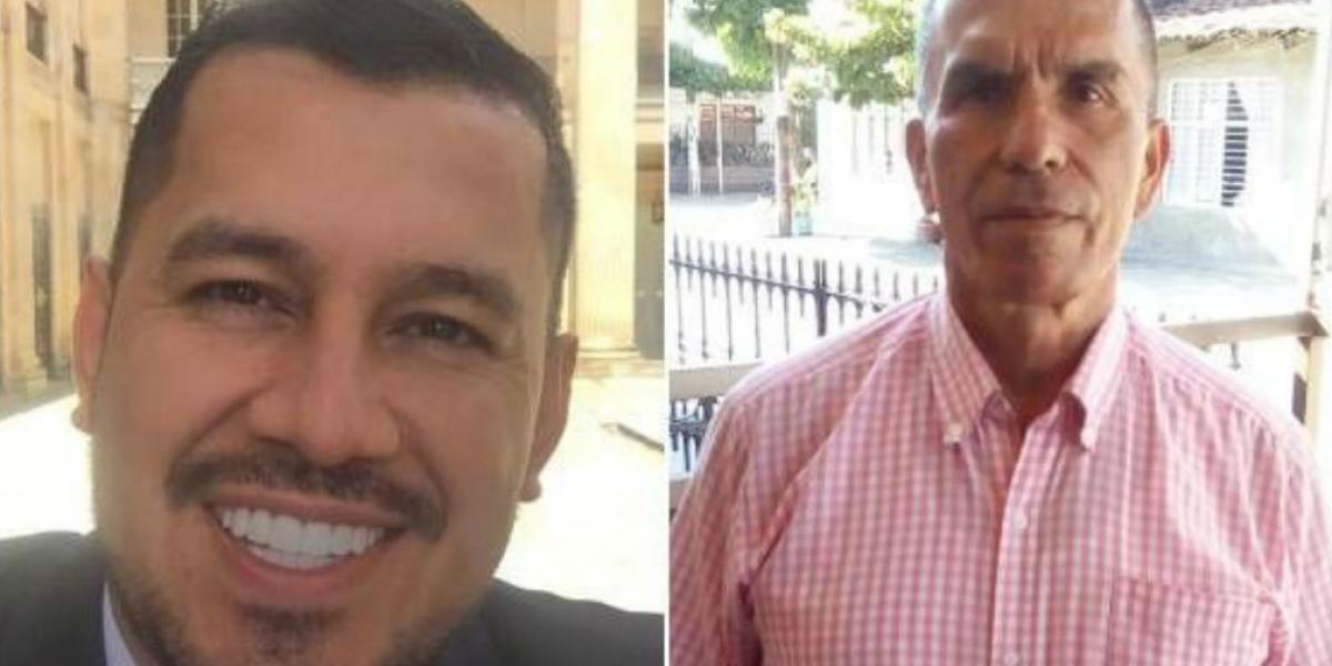 Jhonatan Borja Pérez e  Iván Giraldo Fúqueme.