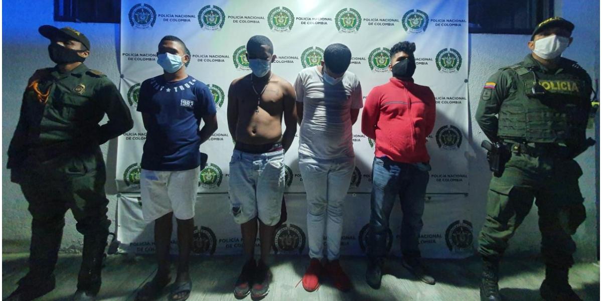 Capturan a 4 personas presuntamente por agredir a un servidor público en El Pando.