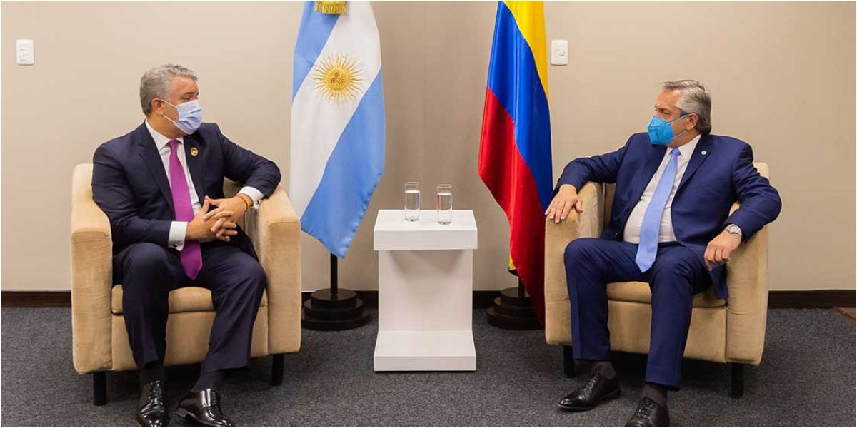 El Jefe de Estado se reunió con su homólogo de la República Argentina, Alberto Fernández.