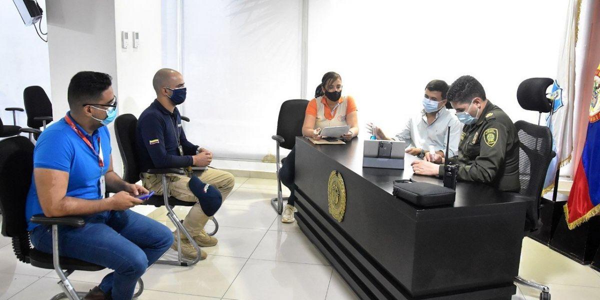 Reunión del Centro Transitorio par Sindicados