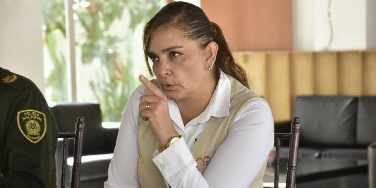 Sandra Vallejos, secretaria de Seguridad del Distrito.