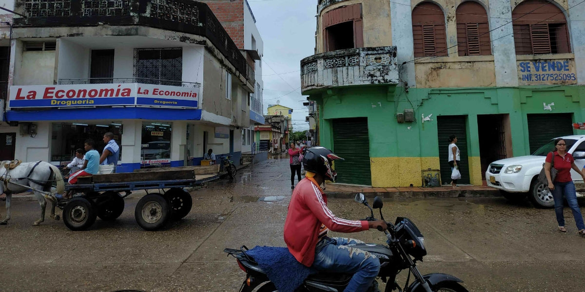 Imagen de archivo de la Calle Nueva en El Banco, Magdalena.