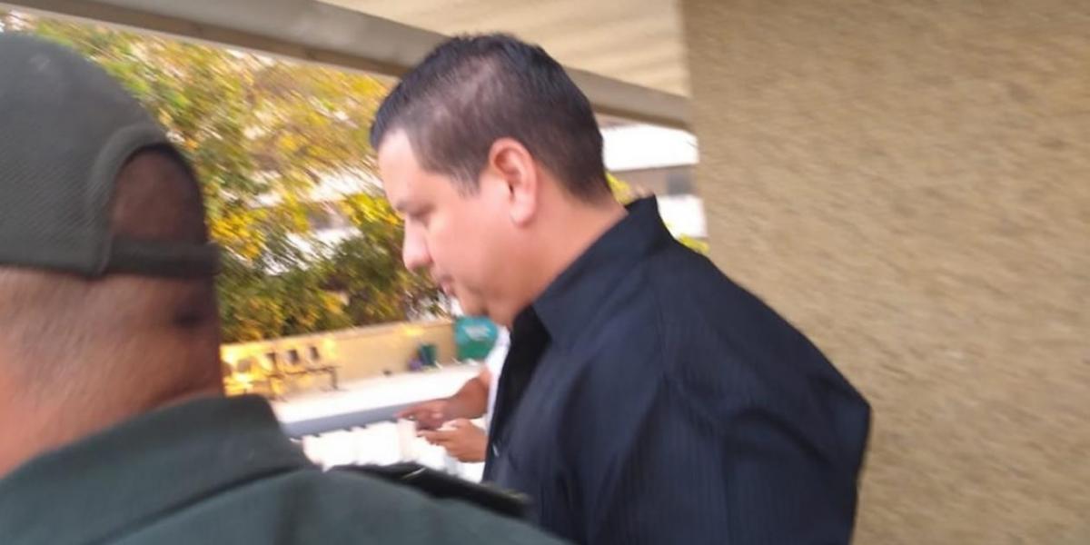 El Fiscal 61 antinarcóticos, Manuel Yunis.