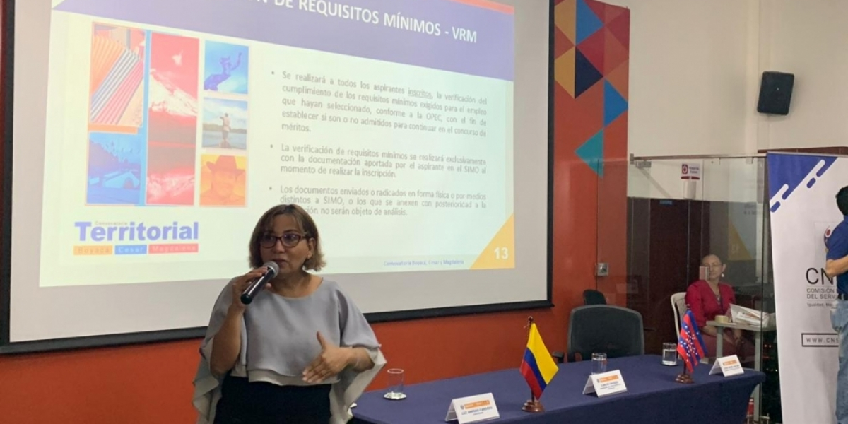 Para el departamento están pautada dos socializaciones: Martes 17 de marzo en Ciénaga y el viernes 20 del presente mes en Santa Marta.