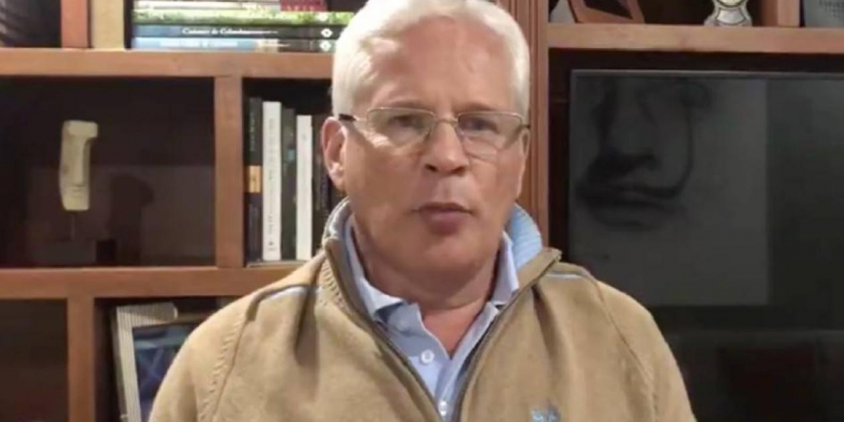 Juan Carlos López Castrillón, alcalde de Popayán.