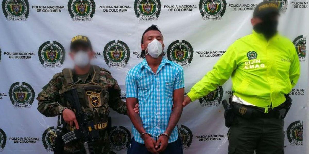 Omar Echeverría Pertúz, alias 'El Negro'.
