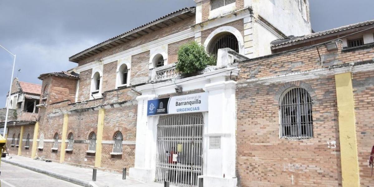 Uno de los heridos fue remitido al Hospital General de Barranquilla.