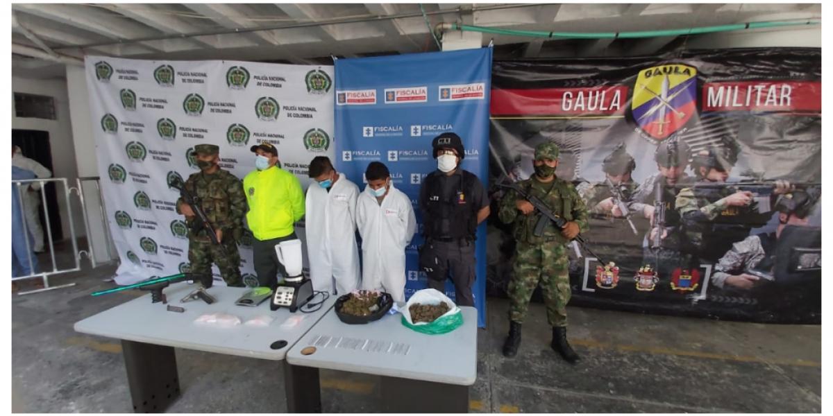 La banda 'Los Papi' Urbanos, quienes delinquían al servicio del grupo delincuencial organizado 'Los Pachenca'.